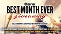 Best Month Ever August Giveaway!